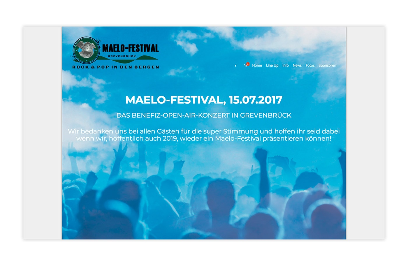 Website - Maelo Festival